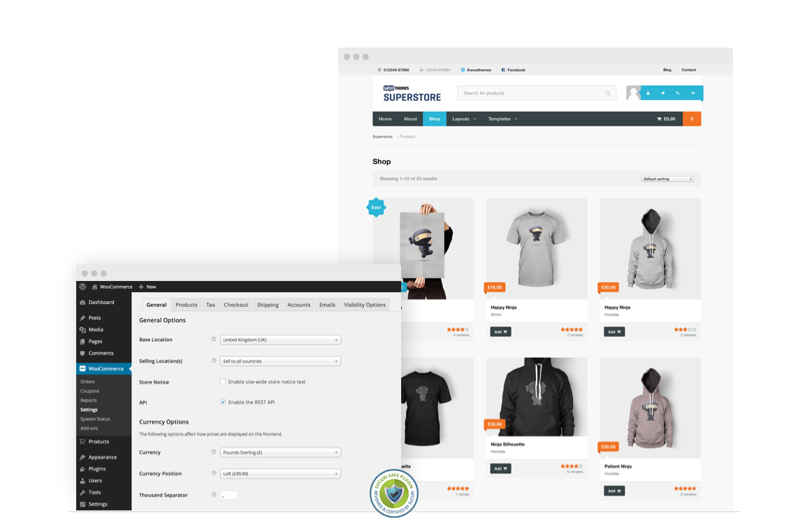 WooCommerce-Page